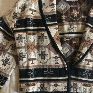 FLASHBACK brand SouthWest Aztec Pattern jacket